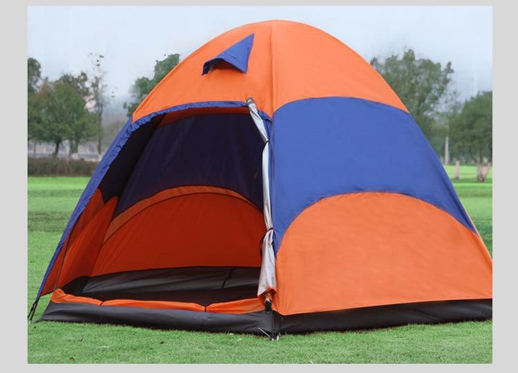 Mongolian Yurt Tent Fishing Mosquito Net Picnic Family Outdoor Camp Summer Beach Camping Tent 5 Person Waterproof (15)