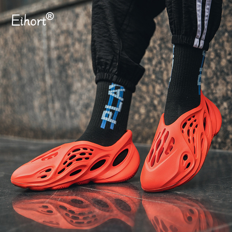 Eihort Lightweight Couple Sneakers Comfortable Breathable Field Training Men Women Running Shoes Casual Tennis Sports Shoes 48