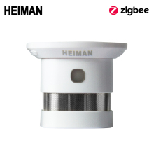 HEIMAN Zigbee Fire alarm Smoke detector Smart Home system 2.4GHz High sensitivity Safety prevention Sensor Free Shipping
