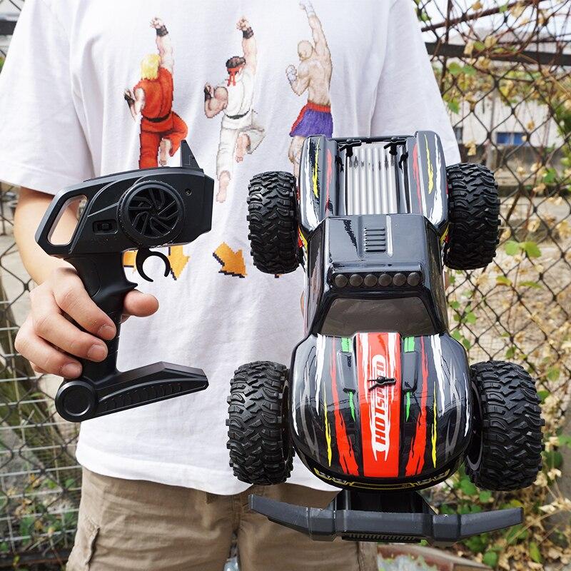 2019 offre spéciale 1:14 haute vitesse RC voiture bricolage hors route camions voiture 2.4Ghz 2WD télécommande jouet voiture Super cadeaux pour enfants garçons