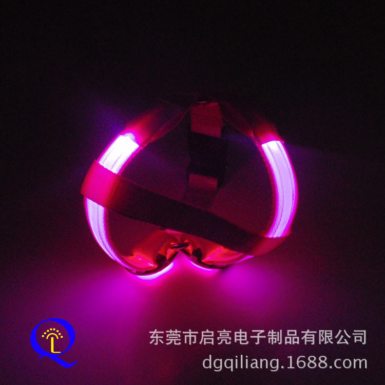 Supply Of Goods LED Shining Dog Chest Strap Lanyard Multi-color Pet Electronic Supplies Support