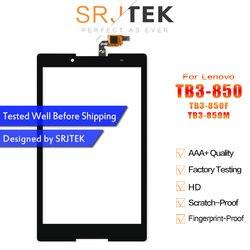 Srjtek для Lenovo Tab3 Tab 3 8 850, сенсорный экран с дигитайзером для сенсорной панели, сенсорная панель, сенсорное стекло, Замена сенсорного экрана для ...