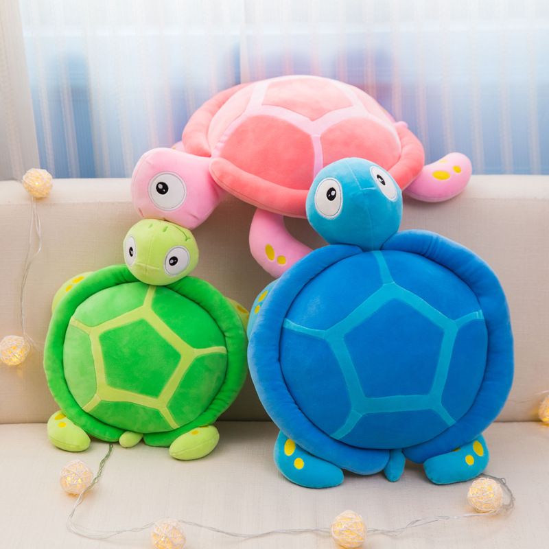 Cute Cartoon Tortoise Doll Plush Toy Stuffed Animal Toys Home Pillow Children Girls Gift