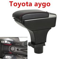Dla Toyota aygo bj podłokietnik ze schowkiem USB w Podłokietniki od Samochody i motocykle na