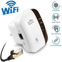 Amplificador repetidor WiFi extensor WiFi 300Mbps extensor de rango WiFi inalámbrico amplificador de señal WiFi amplificador de punto de acceso 802.11N