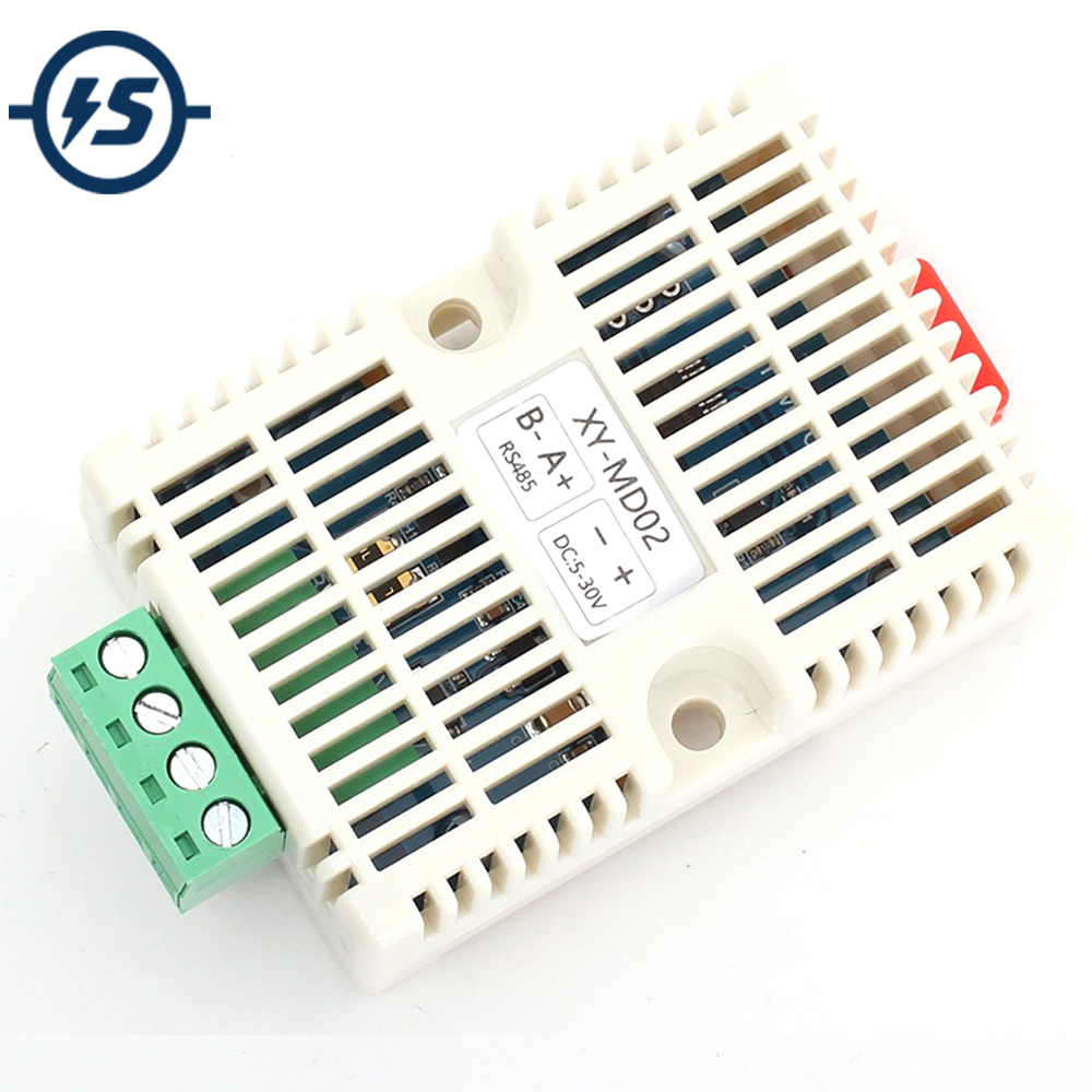 Temperature Humidity Transmitter RS485 SHT20 Sensor Modbus RTU Acquisition Module Transducer High Precision