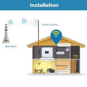 Image 5 - Repetidor Lintratek 3G 4G 1800 2100Mhz Booster 3G 2100 amplificador de señal 4G LTE 1800 amplificador de señal de doble banda UMTS LTE KW20C DW #5