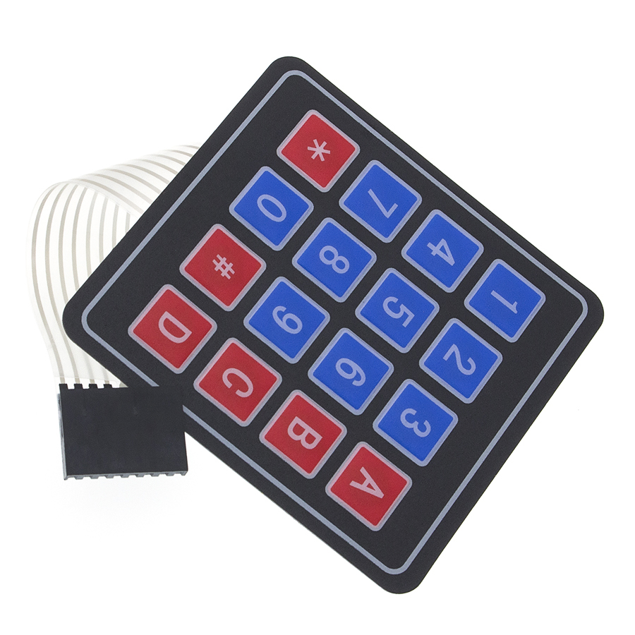 1*4 4*4 4*5 Matrix Array/Matrix Keyboard 16 Key Membrane Switch Keypad for arduino 1x4 4x4 4x5