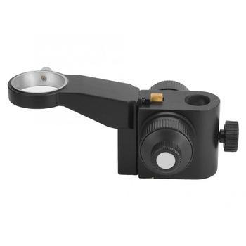 Mikroskop stereoskopowy o wysokiej dokładności precyzyjna regulacja X10A wspornik stojak do montażu tanie i dobre opinie Fdit 500X i Pod Z tworzywa sztucznego Monokularowy