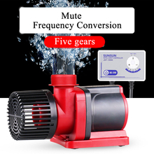 Водяной насос с переменной частотой JDP, большой регулируемый Погружной насос с регулируемым потоком, водяной насос для аквариума, бесшумный wifi 110 V-240 V SUNSUN