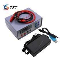Tzt EBC A05 + 배터리 용량 전원 성능 모바일 배터리 컴퓨터 5 v 출력을위한 전자 부하 테스터 충전기