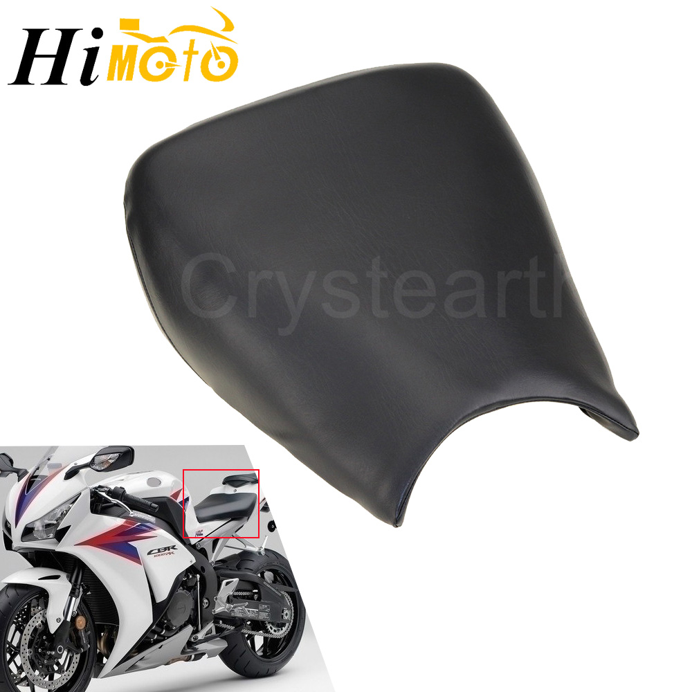 For Honda CBR1000RR 2004 2005 2006 <font><b>2007</b></font> <font><b>CBR</b></font> <font><b>1000</b></font> <font><b>RR</b></font> Black Motorcycle Front Driver Seat Rider Driving Seat Cover Cushion Pad image