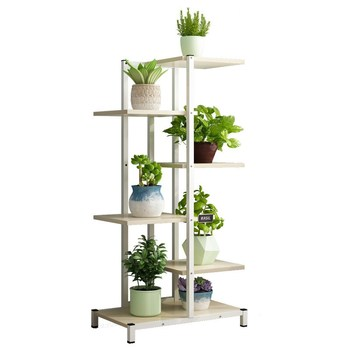 Green Flower Stand Home Balcony Rack Living Room Wrought Iron  Pot  Fleshy  Shelf Multi-layer Indoor Special Off