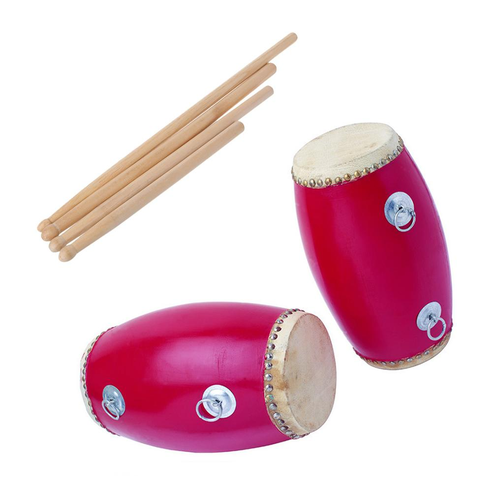 2pcs Wood Drum Sticks With Smooth Surface Drumsticks For Beginner Students