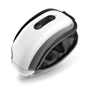 Image 5 - Breo masajeador de ojos iSee4X eléctrico, portátil, con aire de calefacción, vibración musical, masajeador Shiatsu, terapia de masaje para el cuidado de los ojos
