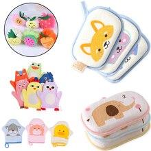 Банные щетки Аксессуары для душа удобные мягкие Аксессуары для полотенец младенец дети тереть ребенка губка для тела хлопок