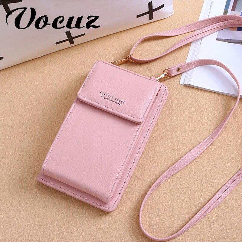 VOCUZ Women's Wallet Brand Mobile Wallet Large Card Wallet Tote Handbag Crossbody Bag Wallet Women Coin Purse 2020 Holder Wallet