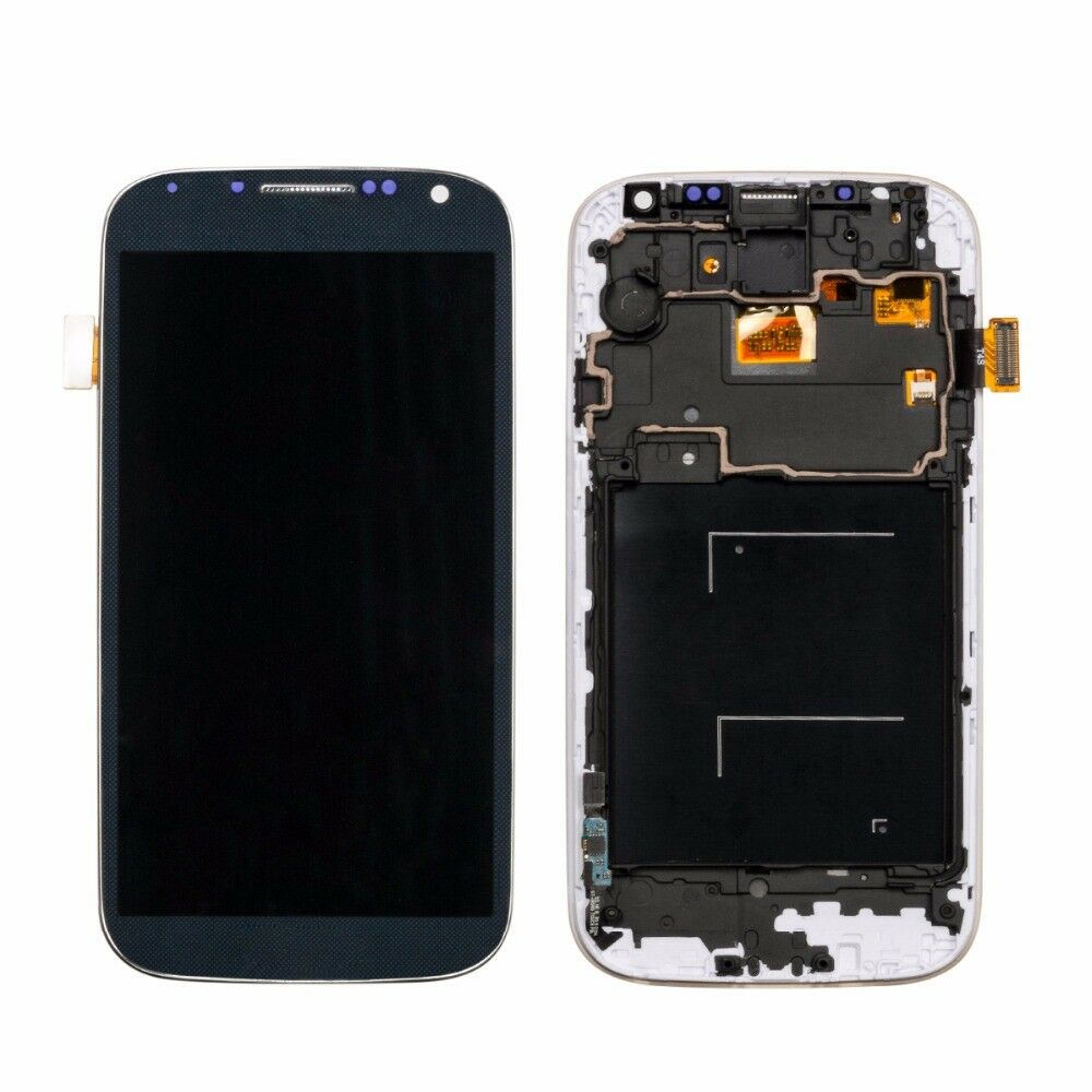 For <font><b>Samsung</b></font> Glalaxy <font><b>S4</b></font> GT-i9505 <font><b>i9500</b></font> i9505 i9506 i9515 LCD Display <font><b>Touch</b></font> <font><b>Screen</b></font> Digitizer Assembly with Frame Free Tools image