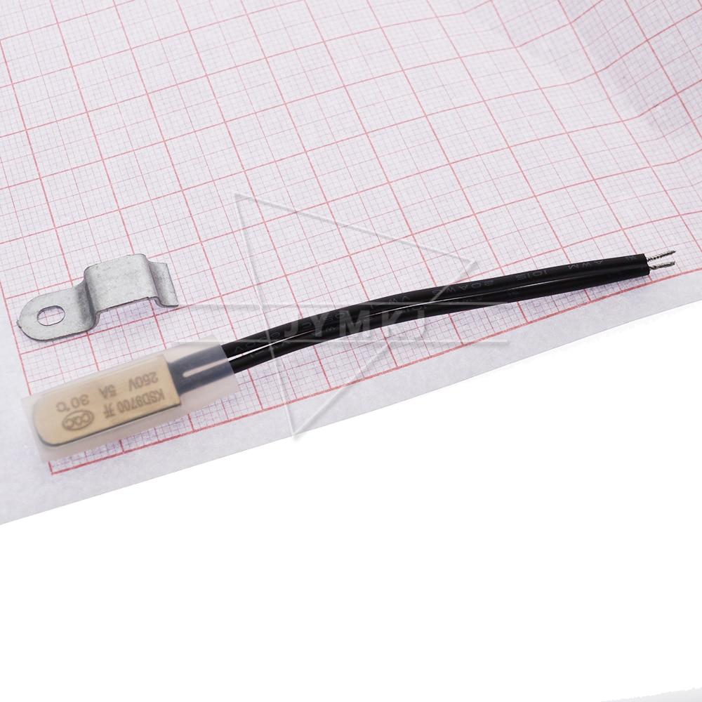 KSD9700 250V 5A 15 20 25 30 35, 40-45 В переменного тока, 50-115 градусов нормально закрытый/открытым Температура переключатель закрытый термостат