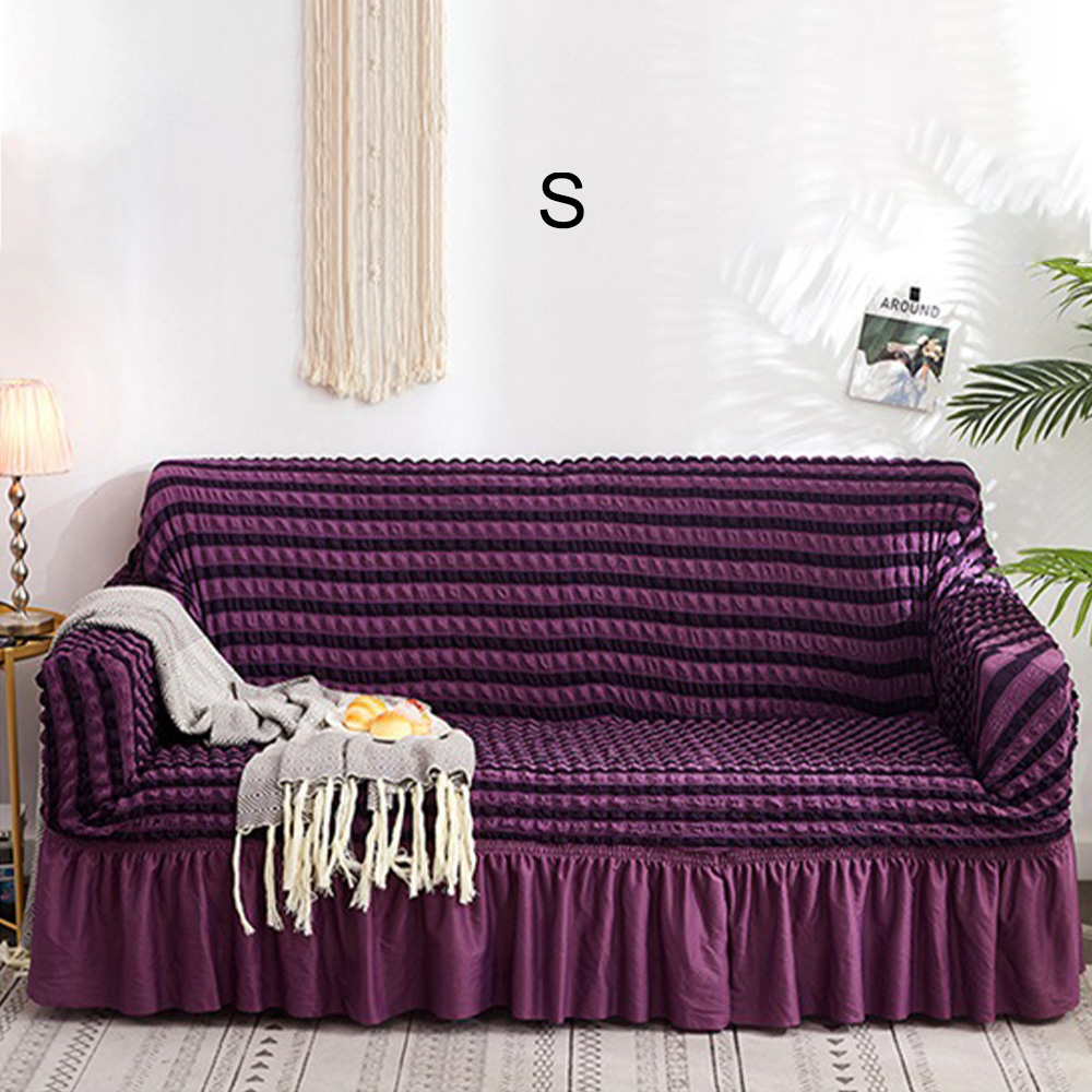 2019 Hot Jacquard Sofa Cover With Skirt European Sectional Couch Sofa Covers For Living Room Armchair