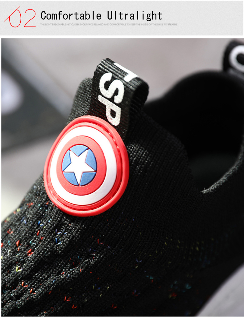 2019 Autumn boys sneakers kids shoes girls travel casual sports Socks shoes Mesh children's breathable running shoes (5)