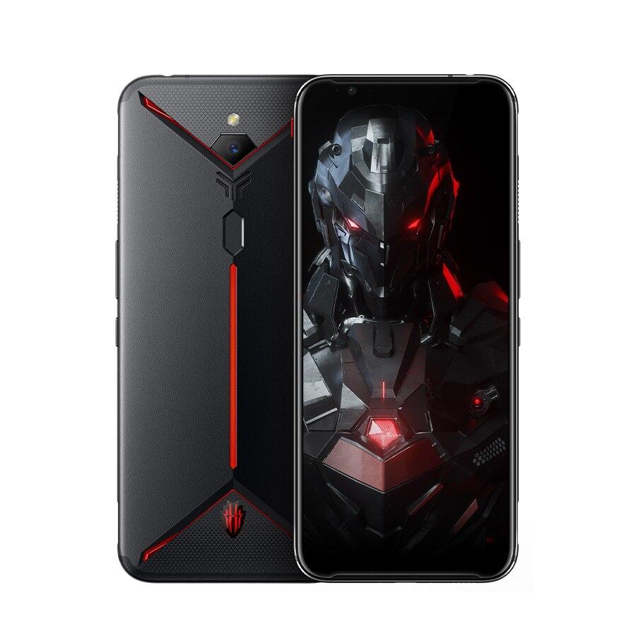 """Version américaine ZTE Nubia rouge magique 3s téléphone portable 6.65 """"8/12 GB RAM 128/256GB Snapdragon 855 + 48.0MP appareil photo Android jeu téléphone"""