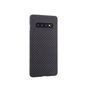 Image 1 - Kevlar Aramid Fiberคาร์บอนไฟเบอร์สำหรับSamsung Galaxy S10 S 10 Plus Trueคาร์บอนไฟเบอร์ทั้งหมดรวมMatte shell