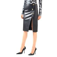 Long-Skirt Sheepskin Women Genuine-Leather Fashion Design Real Female Slim H924 100%Natural