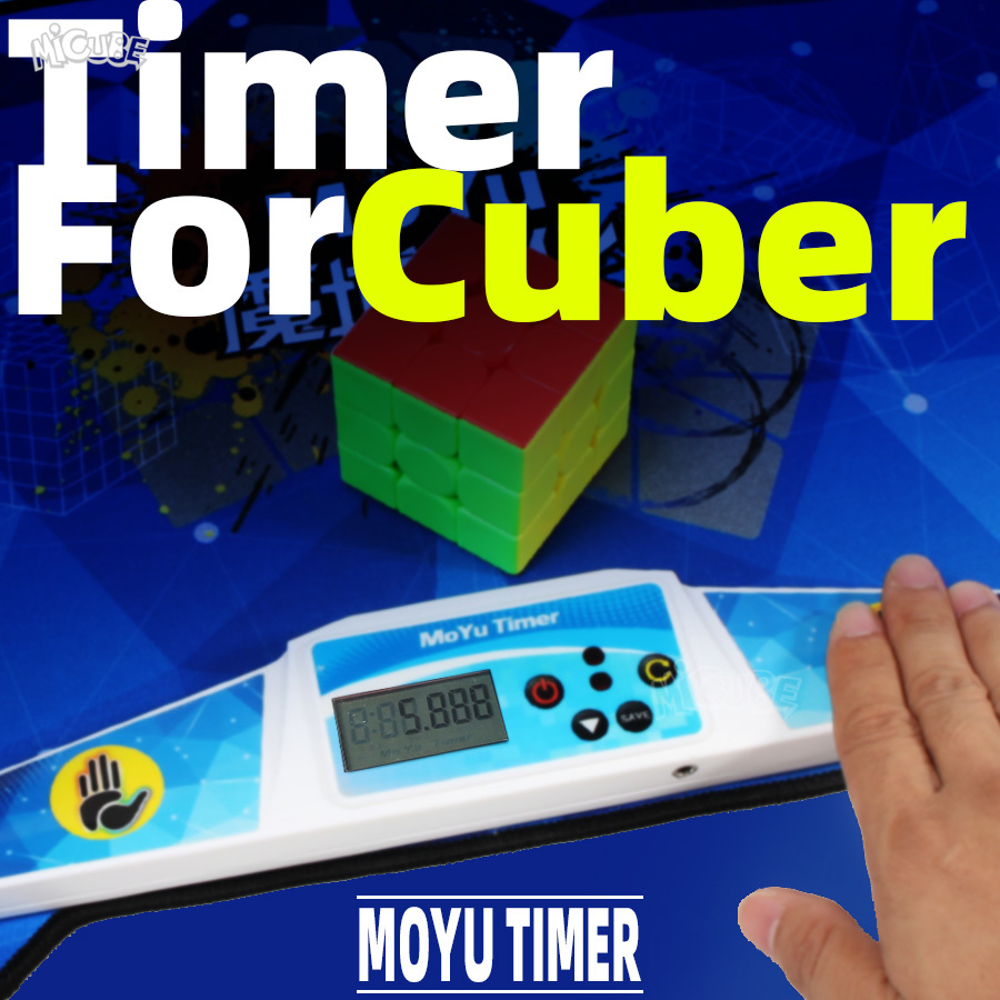 Moyu Cube Timer For 2x2x2 3x3x3 4x4 Magic Speed Cups WCA Competitor Cubo Magico Educational Kid Toy image