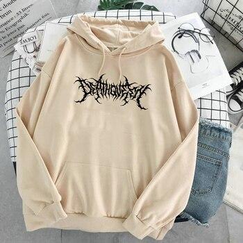 print long sleeve Pullovers oversized harajuku hoodie plus size Summer clothes sweatshirt women korean style streetwear tops 17