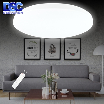 LED Ceiling Lights 48W 36W 24W 18W 12W 220V Surface Mounted Panel Lamp with Remote Control for Bedroom Kitchen Living Room living room lights led ceiling lamp ultra thin cold white18w 24w 36w 48w lighting fixture ceiling lights for bedroom and kitchen