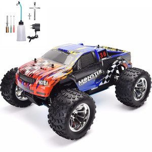 HSP RC Truck 1:10 Scale Nitro Gas Power Hobby Car Two Speed Off Road Monster Truck 94108 4wd High Speed Hobby Remote Control Car(China)