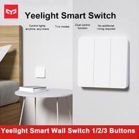 Xiaomi Yeelight Smart Wand Schalter Selbst-Rebound Design Unterstützung Slisaon Für Decke Licht YLKG12YL/YLKG13YL/YLKG14YL