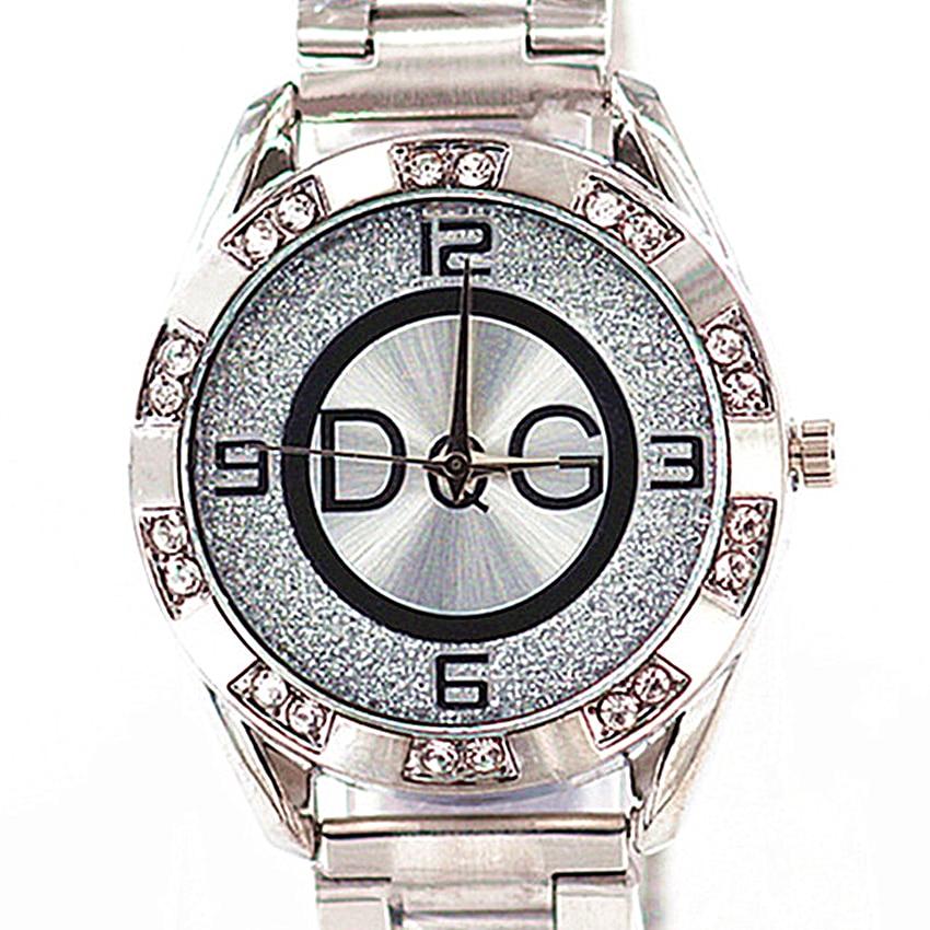 Reloj Mujer 2020 New DQG Famous Brand Casual Quartz Watch Women Gold Silver Full Steel Luxury Women Watches Zegarek