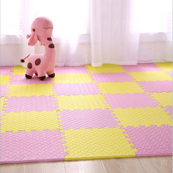 Baby Bedroom Puzzle Mat Climbing Stitching Kid Rug 30x30cm Waterproof Crawling Square Pad Activity Game Toys for Children Carpet Baby & Toddler Toys