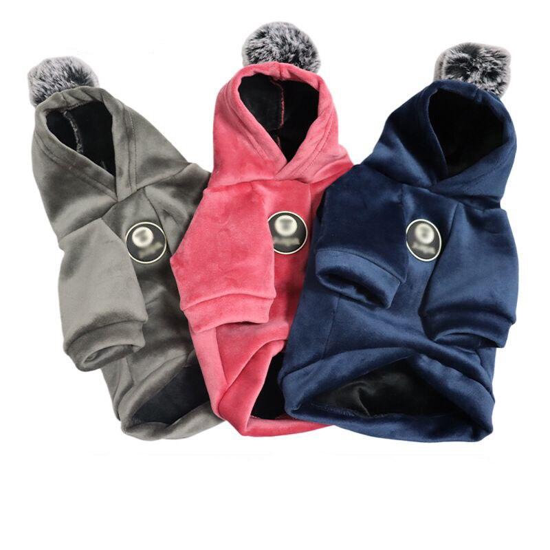 Одежда для собак одежда детей теплая Пальто Щенок кошек малых