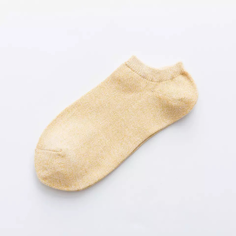 Women's High Quality Cotton Socks Shallow mouth 41
