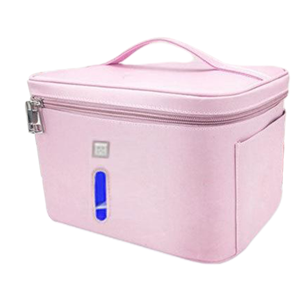 UV Light Sanitizer Bag Jewelry Watch Glass Nail Tools Sterilizer Cleaners for Baby Bottle/ Underwear/ Beauty Tool