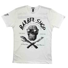 Yakuza Premium T-Shirt 2313   YPS Nature Mens Barber Shop- show original titleHip-Hop Simple Splicing Tee Tops Shirt