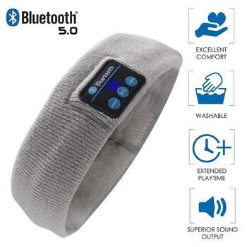 Wireless Bluetooth 5.0 Stereo Headphones Running Earphone Sleep Headset Sports Sleeping Music Headba