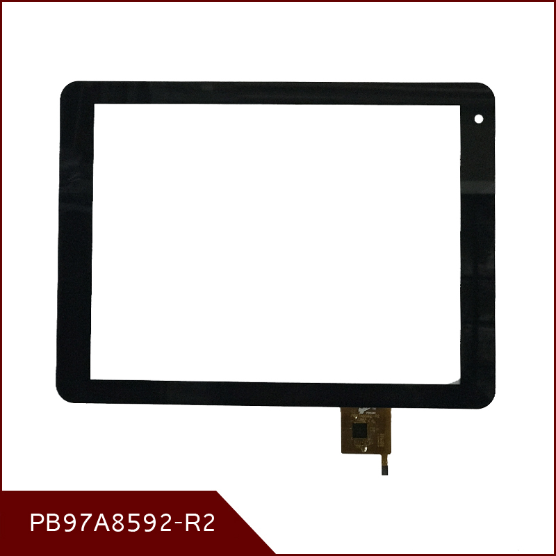 High Quality9.7 Inch Black For Texet TM-9757 3G TM-9767 3G TM-9758 3G Digitizer PB97A8592-R2 Touch Screen Free Shipping