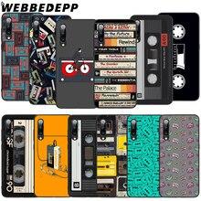 WEBBEDEPP RETRO CLASSIC CASSETTE Soft TPU Case for Xiaomi Mi 6 8 A2 Lite 9 A1 Mix 2s Max 3 F1 9T A3 Pro CC9E Cover