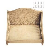 Home-Photography-Props Sofa Studio-Accessories Wooden Newborn Infant Baby Detachable
