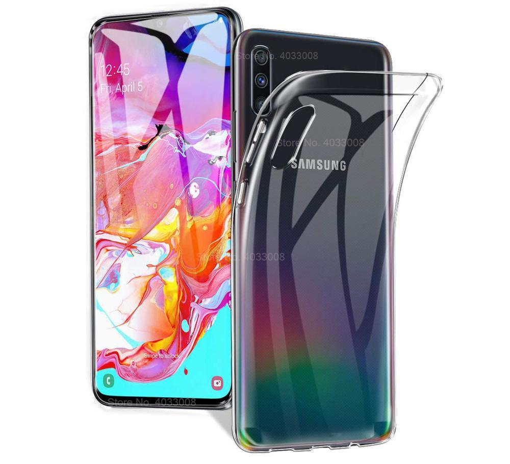 Transparent Ultra Thin Soft TPU Case For Samsung Galaxy A71 A51 A70 A50 A40 A30 A20S A10S M20 S20 S10 S9 S8 Plus A6 A8 A7 2018(China)