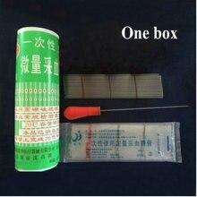 1 boîte (400 pièces) 40ul verre jetable prélèvement sanguin vaisseau verre tube capillaire micro pipette capillaire
