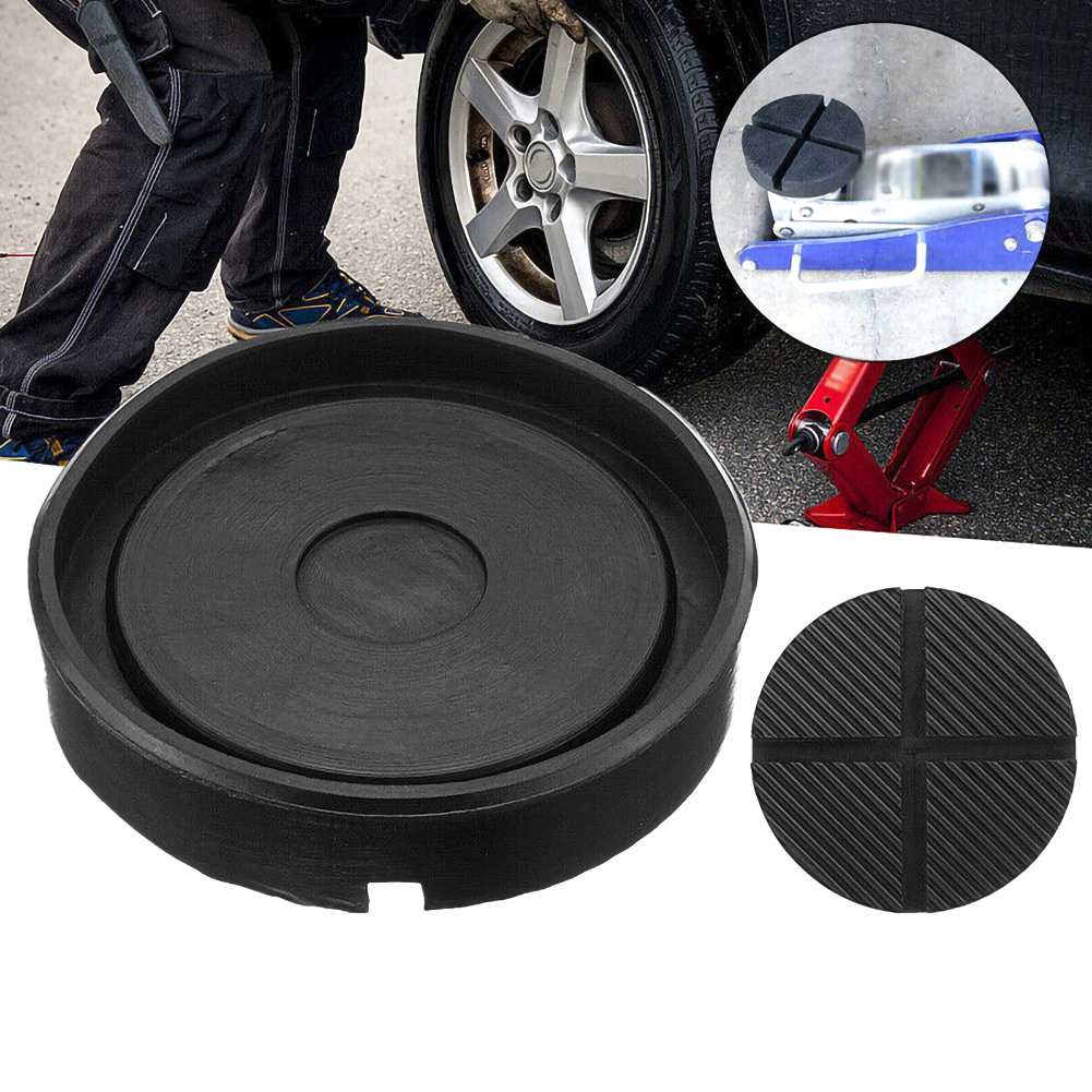 Groove Car Jack Rubber Pad Rubber Profile Jack Pad For Vehicle 12.5 * 2.6 Black