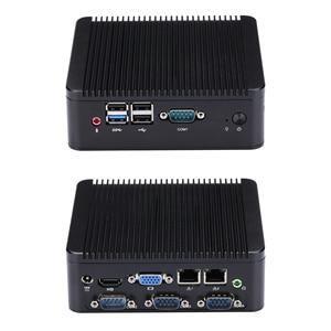 FAST 4 RS232 MINI PC J1800 J1900 mini living room PC / HTPC host / industrial computer Celeron Quad-Core(China)