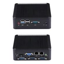Мини-ПК FAST 4 RS232 J1900 N2920, мини-ПК для гостиной/HTPC, промышленный компьютер, четырехъядерный процессор Celeron