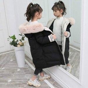 Image 2 - Giacca invernale per la Ragazza Bambini abbigliamento Da Lavoro 2019 Nuovo Addensare Imbottiture Cappotto Del Cotone Outwear 3 13T Adolescente Capretto abbigliamento Girls Parco