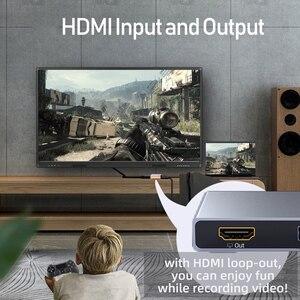 Image 5 - Unnlink USB3.0 لعبة UVC بطاقة التقاط الصوت والفيديو التقاط الفيديو 1080 @ 60Hz سجل البث المباشر للكاميرا كاميرا ويب PC PS3 PS4 TV xbox التبديل